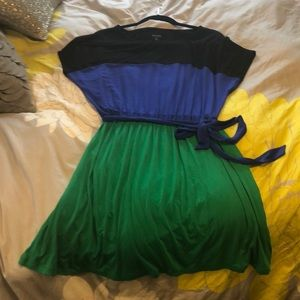 Kensie Dresses - Kensie color block dress NWOT